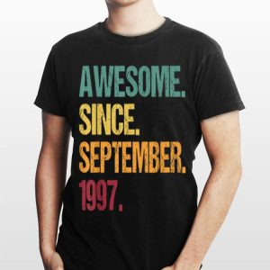 Awesome Since September 1997 Vintage shirt