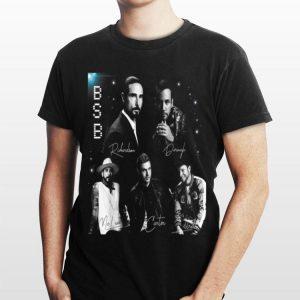 Backstreet Boy Member Signature BSB shirt