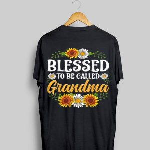 Blessed To Be Called Grandma Sunflower shirt