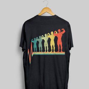 Bodybuilding Heartbeat Vintage shirt