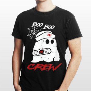 Boo Boo Crew Nurse Ghost Halloween shirt