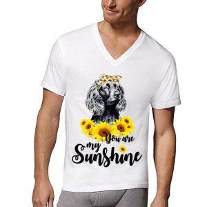 Boykin Spaniel You Are My Sunshine Sunflower shirt