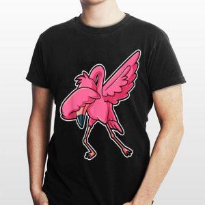 Dabbing Flamingo shirt