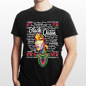 Dashiki Black Queen History Melanin shirt
