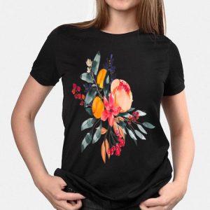 Fall Colors Flowers shirt