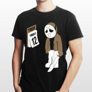 Friday The Twelfth Jason Voorhees Halloween shirt