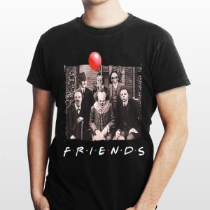 Friends Horror Movie Creepy Halloween shirt