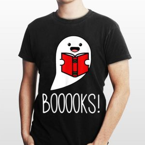 Ghost Reading Library Books Halloween shirt