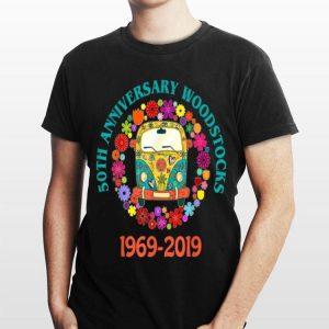 Hippie Woodstock 50th Anniversary Peace Bus shirt