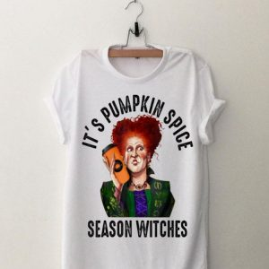 Hocus Pocus Winifred Sanderson It's Pumpkin Spice Season Witches shirt
