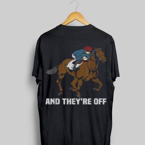 Horse Riding And They're Off shirt
