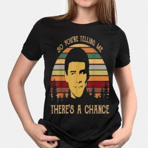 Jim Carrey So You're Telling Me There's a Chance Vintage shirt