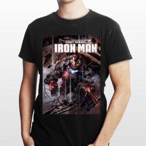 Marvel Iron Man Tony Stark Comic shirt