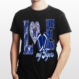Memphis Tigers Love Football shirt