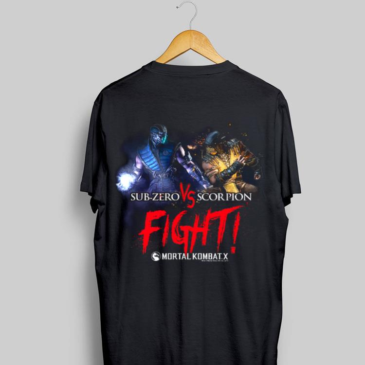 Mortal Kombat X Sub Zero Scorpion Fight Shirt Hoodie Sweater