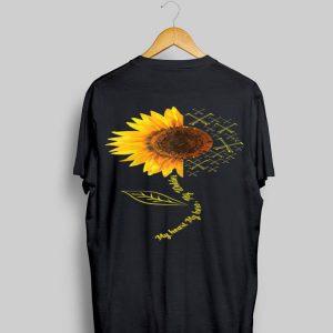 My Heart My Hero My Welder Sunflower shirt
