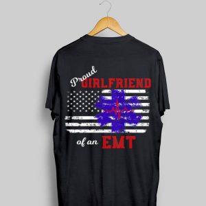 Proud Girlfriend of an EMT America Flag shirt
