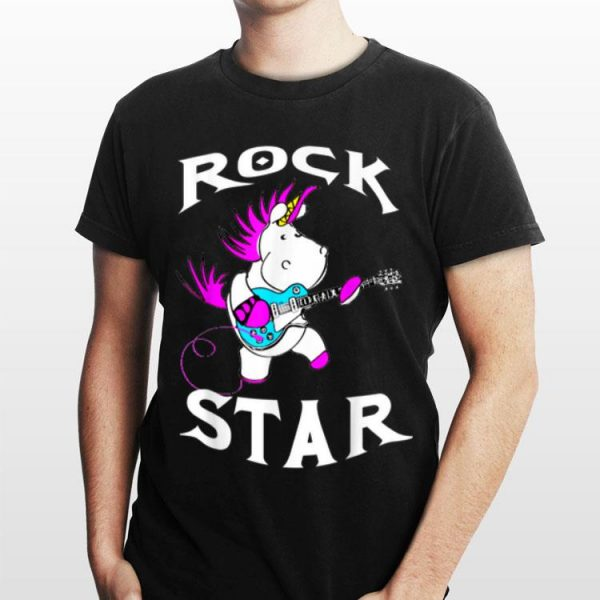 Rock Star Unicorn shirt