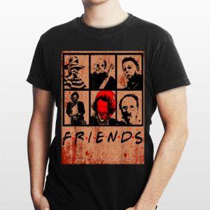 Scary Friends Horror Movie Creepy Halloween shirt
