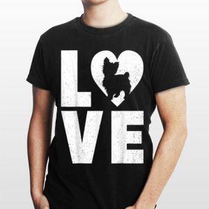 Shih Poo Dog in Heart Love shirt