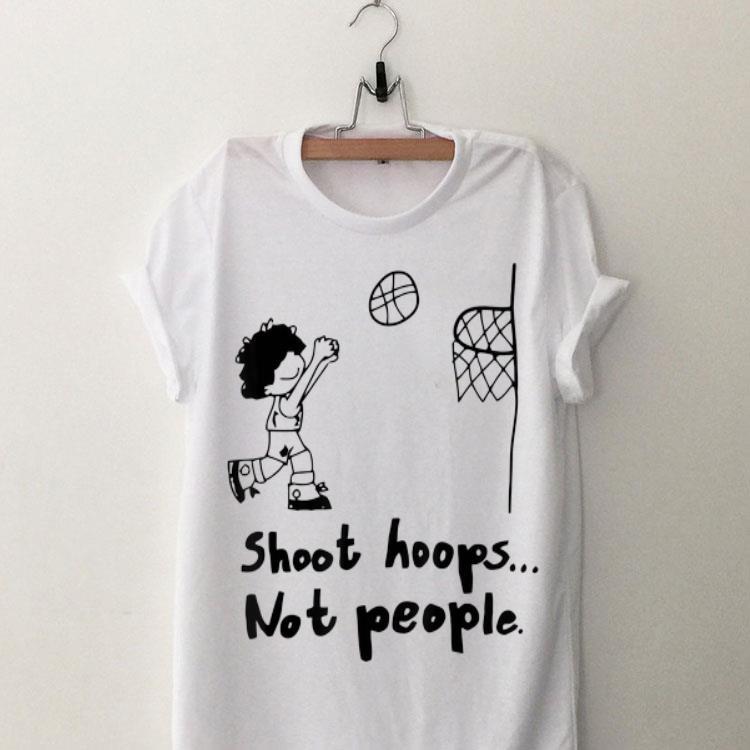 Shoot Hoops Not People Sweatshirt