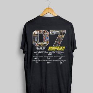 Signature 7 Years Brooklyn Nine Nine Years Of 2013 - 2020 shirt