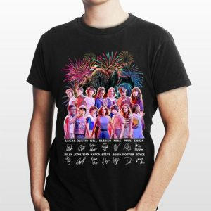Thank You For The Memories Stranger Things Firework Signature shirt