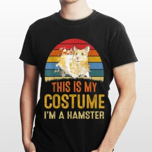 This Is My Costume Hamster Vintage shirt