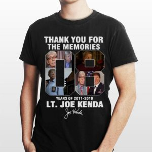 08 Years Homicide Hunter Lt. Joe Kenda 2011-2019 Signature shirt