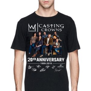 20th Anniversary 1999-2019 Signatures Casting Crowns shirt