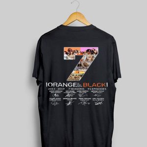 7th Season Orange Is The New Black 2013-2019 signatures shirt