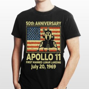 Apollo 11 First Manned Lunar Landing July 20 1969 50th Anniversary shirt