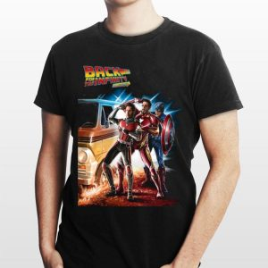 Back For The Infinity Stones Iron Man Captain America Ant Man shirt