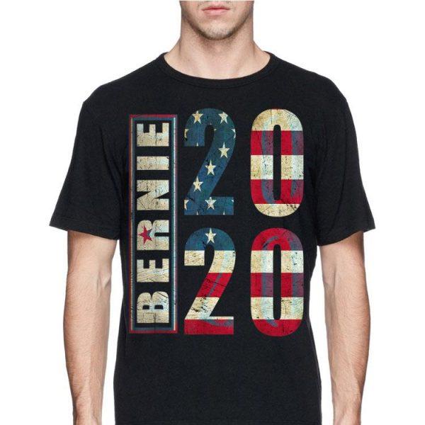 Bernie 2020 American Flag shirt