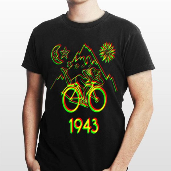 Bicycle Day 1943 LSD Acid Hofmann Trip shirt
