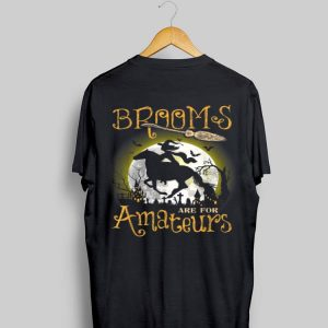 Brooms Are For Amateurs Horse Halloween shirt