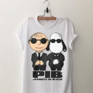 Charlie Brown And Snoopy PIB Peanuts In Black Shirt