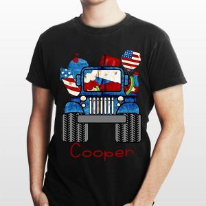 Cooper Jeep Flag American shirt