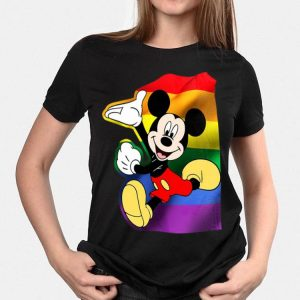 Disney Mickey Mouse LGBT shirt