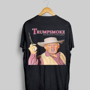 Donald Trumpsmoke New Marshall in Washington shirt
