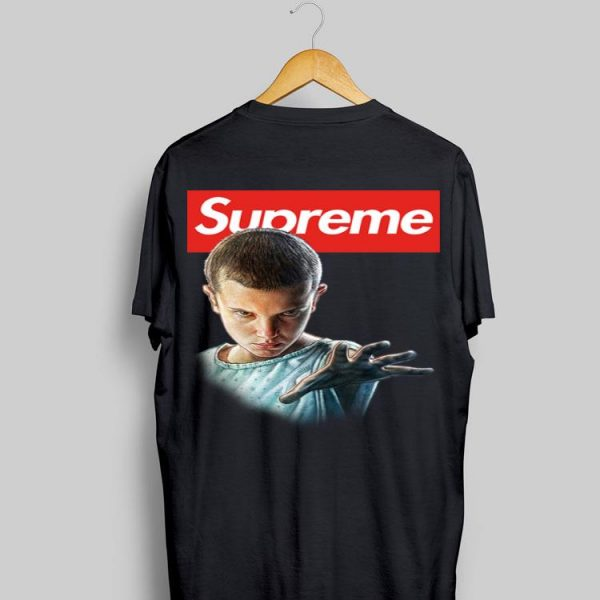 Eleven Stranger Things Supreme shirt