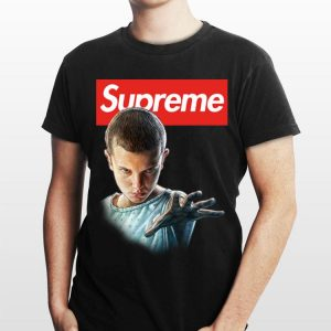 Eleven Stranger Things Supreme shirt