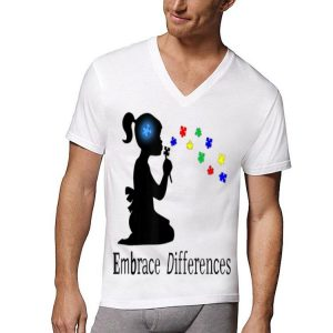 Embrace Differences Puzzle Autism Awareness shirt