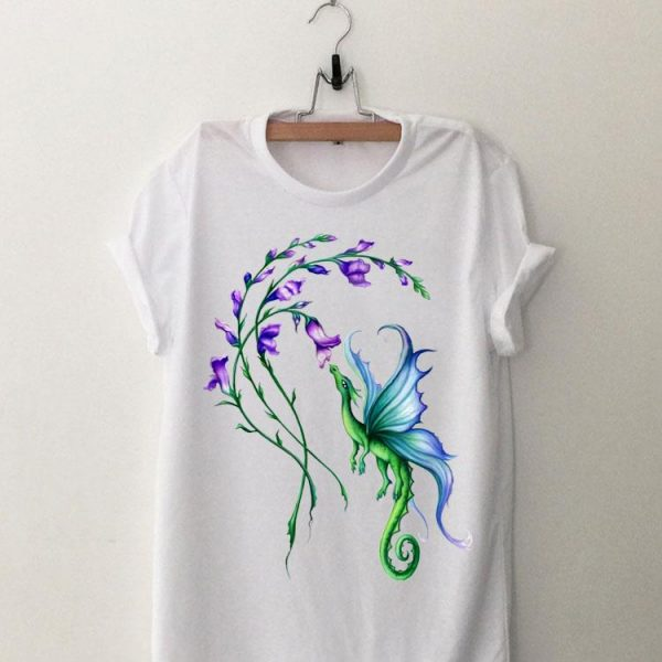 Flying Dragon And Flower shirt