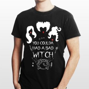 Halloween you coulda had a bad witch Hocus Pocus shirt