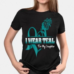 I Wear Teal For My Daugyhter PCOS Awareness shirt