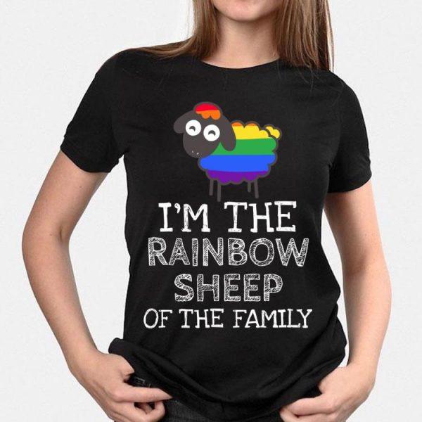 I'm The Rainbow Sheep Of The Family LGBT shirt