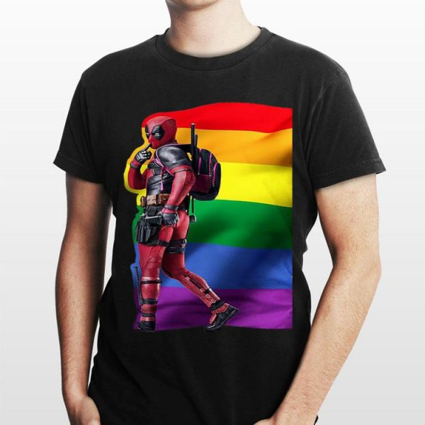 LGBT Deadpool shirt
