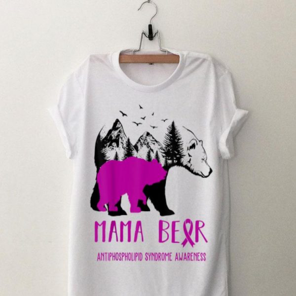 Mama Bear Antiphospholipid Syndrome Awareness shirt
