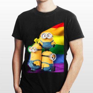 Minions Rainbow LGBT shirt